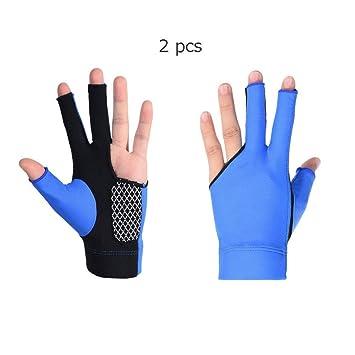 Billar Tres dedos Guantes Snooker Especial