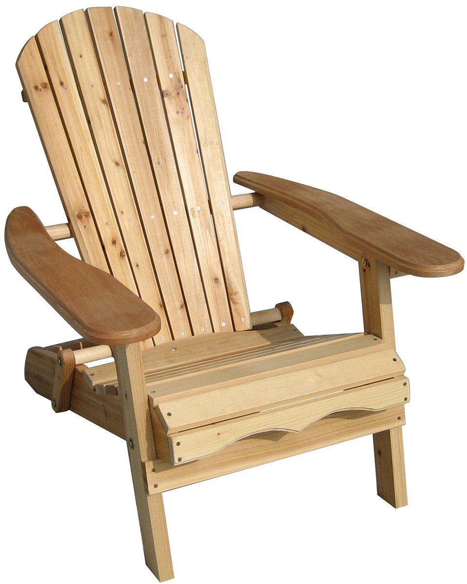 Amazon Merry Garden Foldable Adirondack Chair Wooden Outdoor