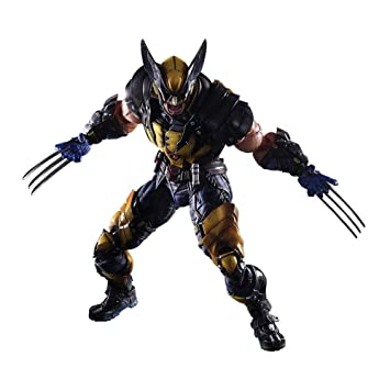Marvel Play Arts Kai Wolverine Action Figure Toy Model Statue Collectible Doll