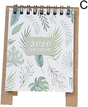 Calendarios de Pared Calendarios de Escritorio 2019-2020 Mini ...