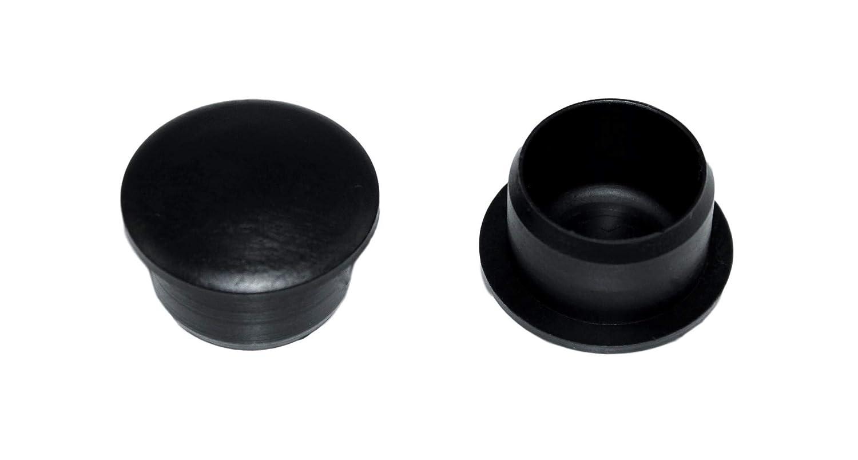 F/ür Rohrdurchmesser 3//4 Zoll 10 St/ück SN-TEC Rohrstopfen Fu/ßkappe Pfostenkappe Rundrohr Auswahl von 3//4 bis 2 Zoll