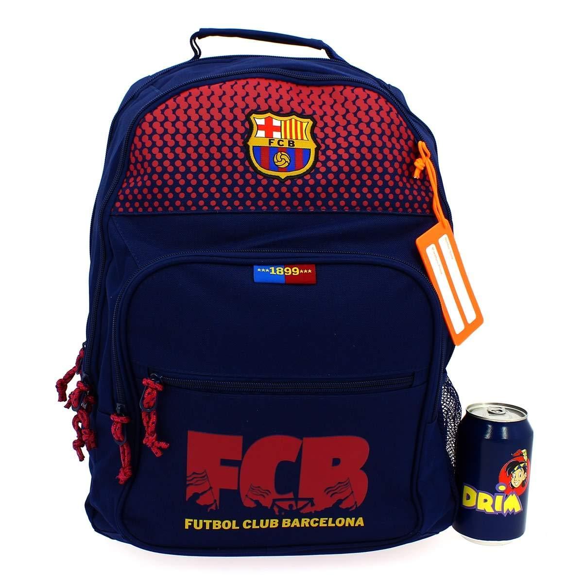 Safta Mochila FC Barcelona Corporativa Oficial Mochila Escolar, 320x160x420mm