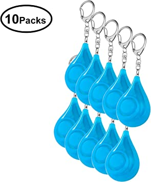 Children and Elders Zabree 130db Personal Security Alarms Keychain with Batteries Included Safesound Personal Alarms 4 Pack Personal Alarms for Women