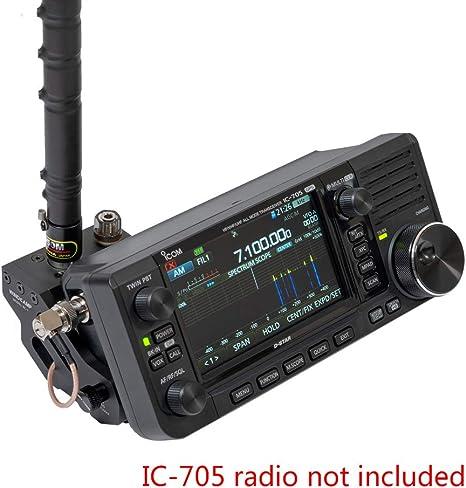 color tree Soporte de Antena Liberación rápida para ICOM IC-705 Radio portátil de Onda Corta