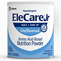 EleCare Jr Nutrition Powder, Complete Nutrition for Children Age 1 and Older with...