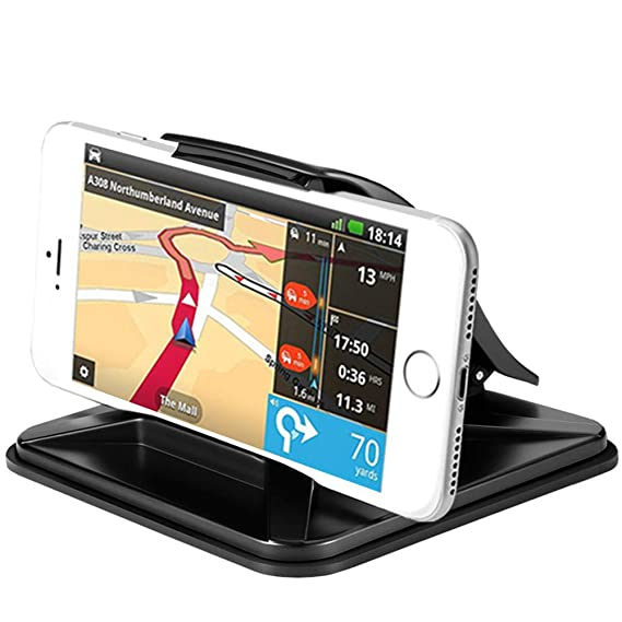 the best attitude e6da8 8efa2 Cell Phone Car Holder Dashboard Car Phone Mount Vehicle GPS Mounts  Universal Car Pad Mat Cradles Clamp for iPhone X XR XS MAX 8 7 6 6S Plus,  for ...