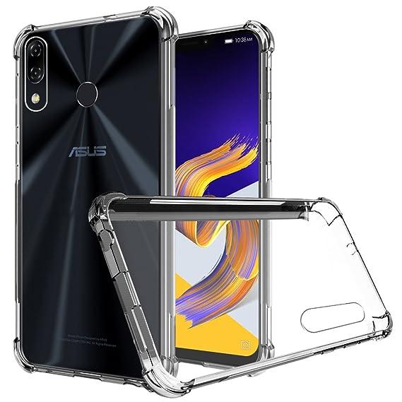 hot sale online 425c4 f03d5 Asus ZenFone 5 ZE620KL Case, Zeking Ultra Slim Thin Anti-Scratch TPU Rubber  Soft Skin Silicone Premium Protective Case Cover for Asus ZenFone 4 ...