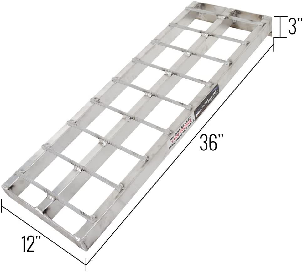 Black Ice SNO-EXT Snowmobile Loading Ramp Extension