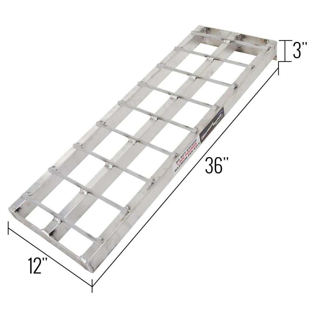 Black Ice SNO-EXT Snowmobile Loading Ramp Extension by Black Ice (Image #2)