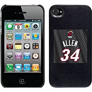 iphone covers Ray Allen - Road Jersey Back design on Black iPhone 5c / 4 Thinshield Snap-On Case