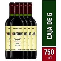 Caja de Vino Tinto Valeriano Tempranillo 750 ml