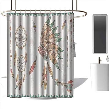 Amazon.com: coolteey Shower Curtains for Bathroom Sets Pink ... on set sofa designs, set bathroom accessories, set bathroom christmas, set bedroom,