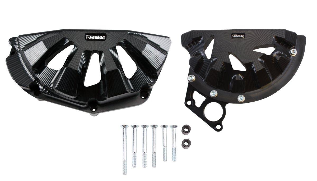 T-Rex Racing 2017-2018 Kawasaki Ninja 650 /ABS /KRT Edition Engine Case Covers