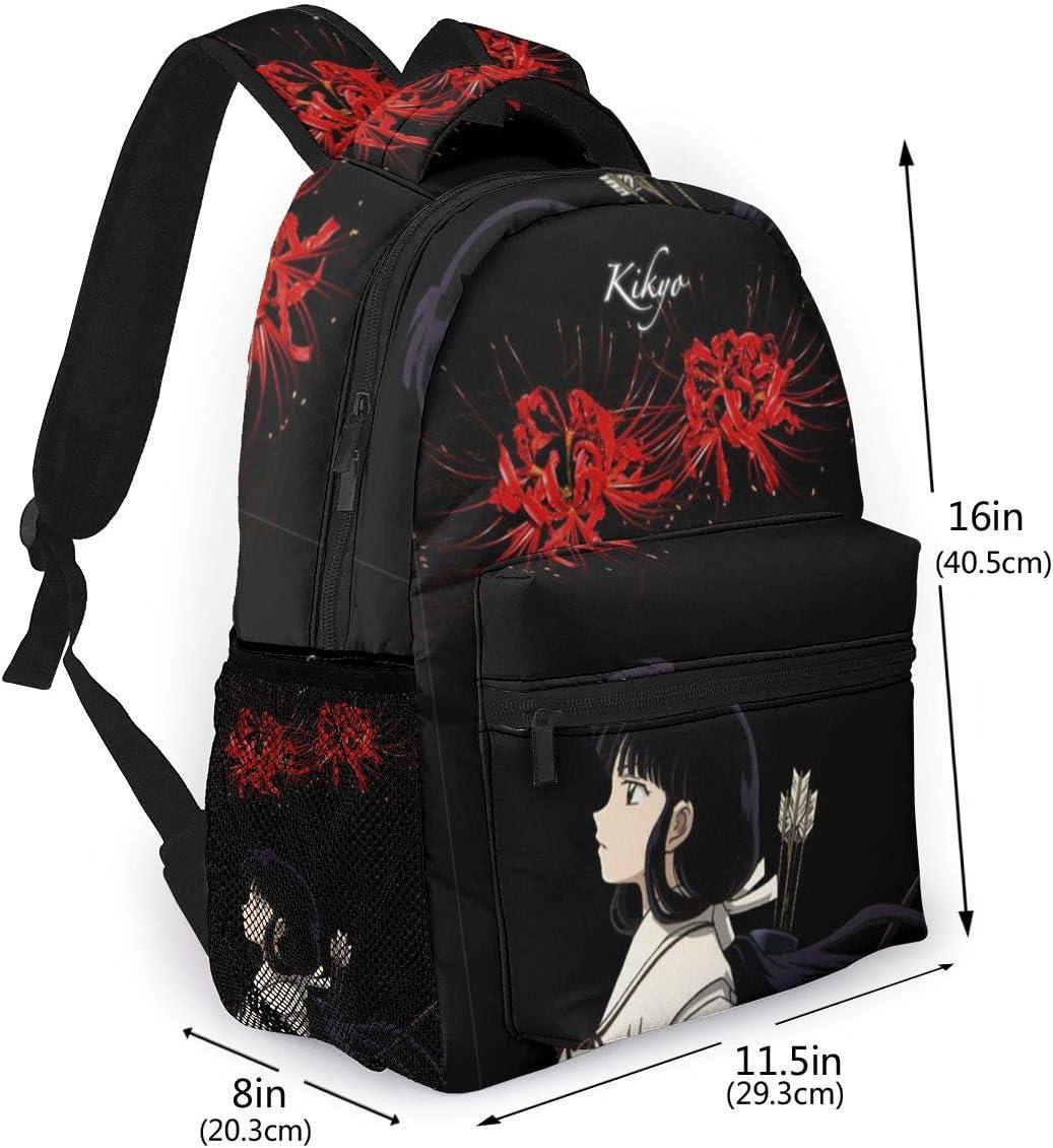 Inuyasha School Backpack for Boys Girls Laptop Bag Sports Traveling Daypack 1611.58 in
