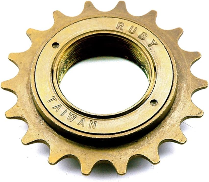 Piñón de entrada City BMX Freestylefest fijo 18 dientes bicicleta