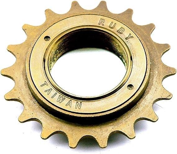 Piñón de entrada City BMX Freestylefest fijo 18 dientes bicicleta ...