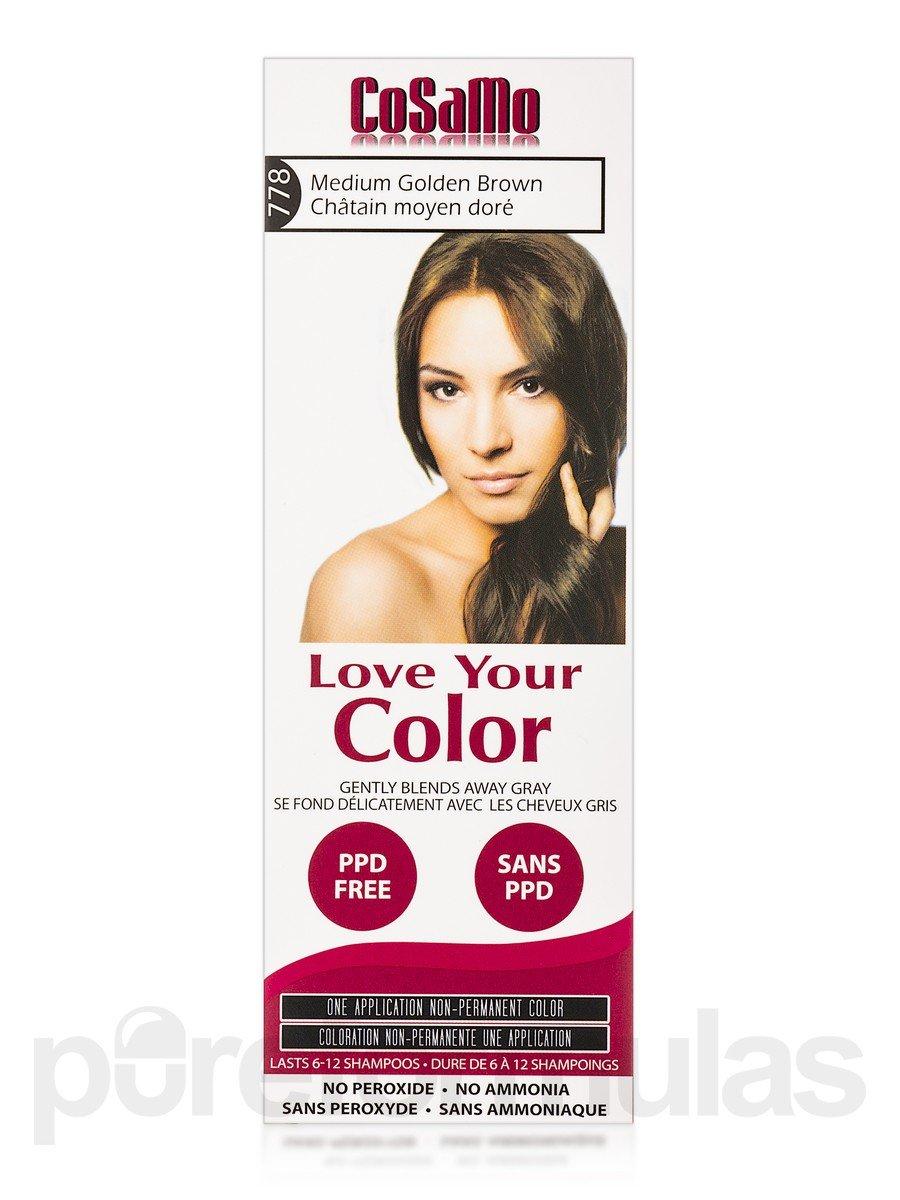 Amazon Cosamo Love Your Color Non Permanent Hair Color 775