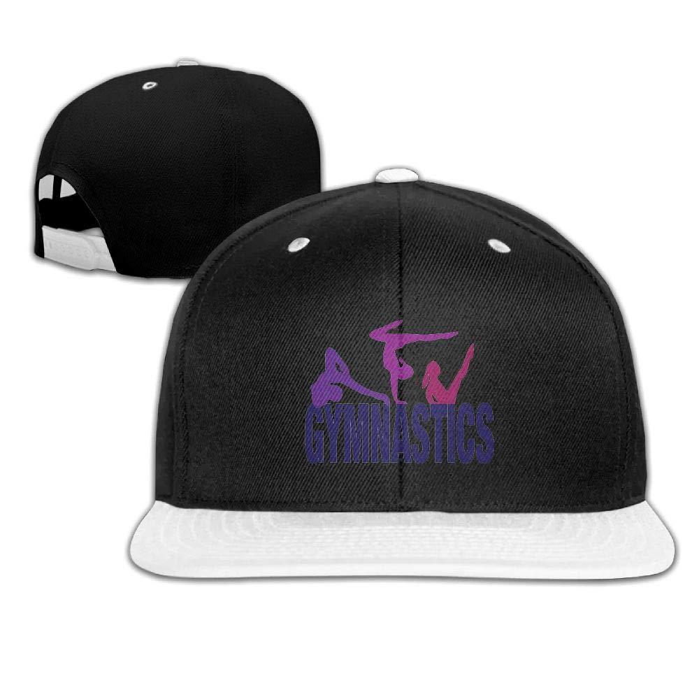 Tailing Gymnastics Unisex Hip-hop Hats Snapback Hat Solid Flat Cap