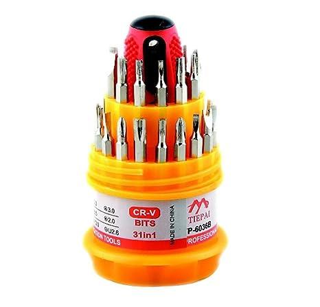yishang 31en1 conjunto de herramientas de destornillador de ...