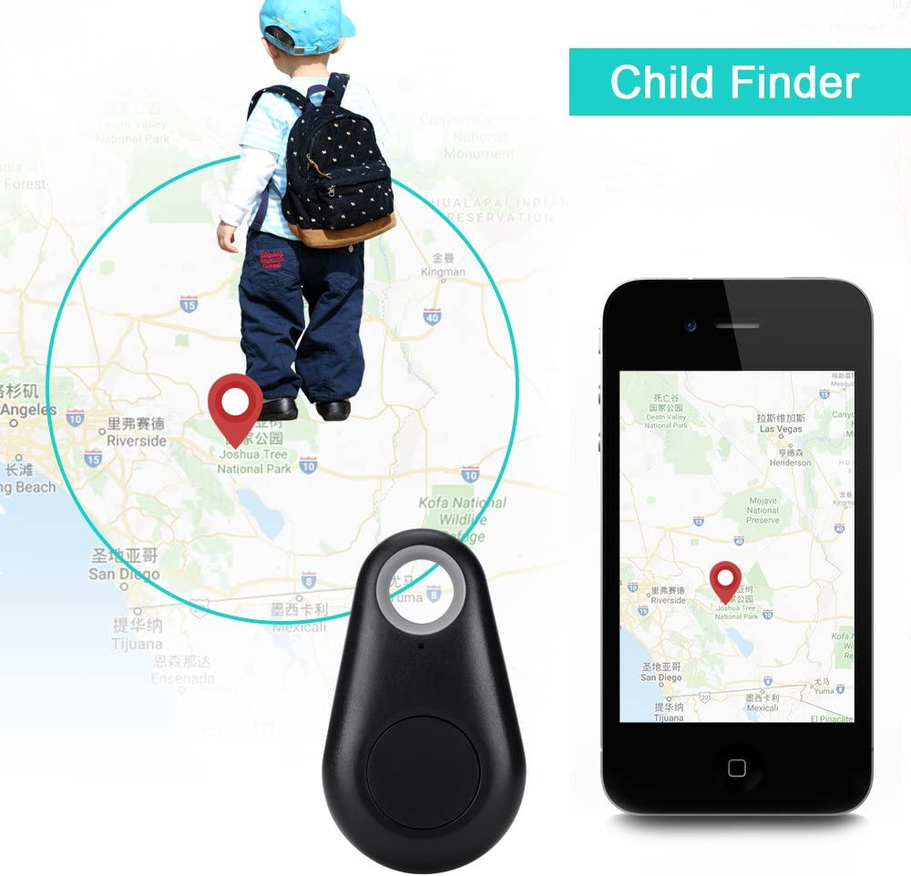 URAQT Smart Tag Bluetooth Anti-lost Tracker Tracking Key Finder Tracer,Alarm Patch Pet Dog Phone Locator,Selfie Shutter for iPhone iPad Samsung android phone /& Other Android Devices iPod