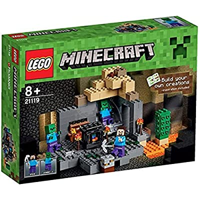Lego Minecraft The Dungeon: Toys & Games