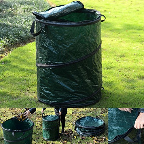 Giantex Collapsible Pop Up Camp Trash Can Portable Outdoor