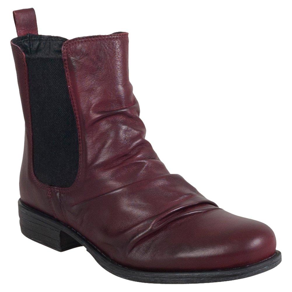 Miz Mooz Women's Lissie Ankle Boot B01FE6JPQE 8.5 B(M) US|Wine