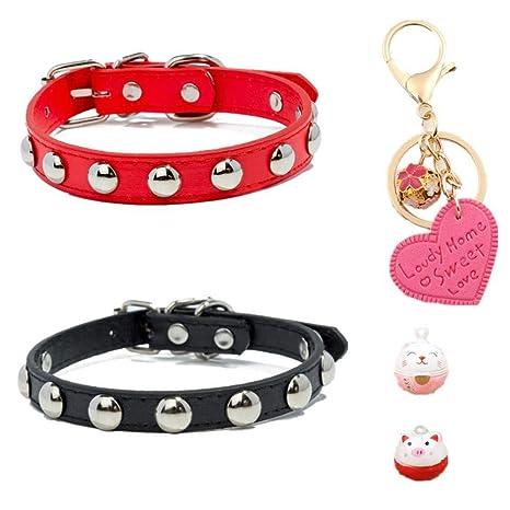 GOUSHENG collar Mascotas Perros Juego Completo 2Pcs Cats ...