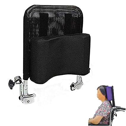 Reposacabezas de silla de ruedas - Soporte de cuello Acolchado ajustable para la cabeza, Accesorios