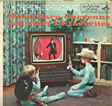 Various: Wyatt Earp , Cheyenne and other TV Favorites LP VG/Vg+ Canada RCA