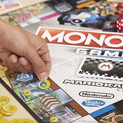 Monopoly Gamer Mario Kart, Gesellschaftsspiel für Erwachsene & Kinder, Familienspiel, der Klassiker der Brettspiele, Gemeinschaftsspiel für 2 - 4 Personen, ab 8 Jahren 5