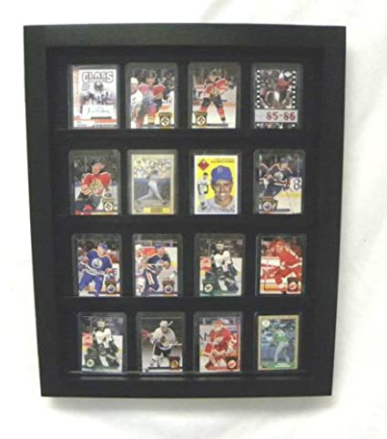 Amazoncom Baseball Card Display Baseballfootball Hockey
