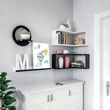 XQY Casa Camera da letto Libreria Parete attrezzata Scaffale Camera ...