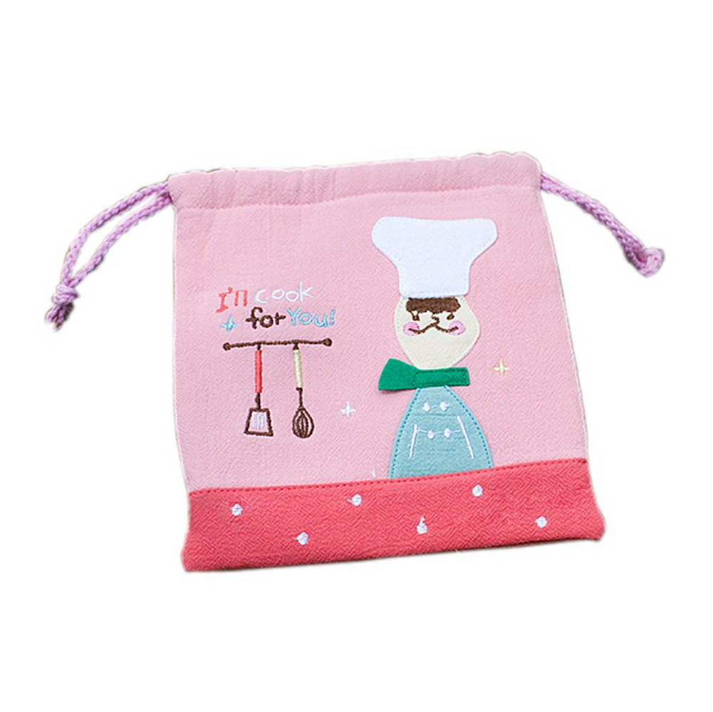 Blancho Bedding [Cook for you] Draw String Bag (5.76.7)