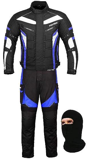 Impermeable moto Gears - 2 traje chaqueta y pantalones de ...