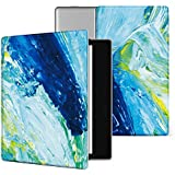 Ayotu Colorful Case for Kindle Oasis-(9th Gen, 2017 Release Only) Lightweight Premium PU Leather Cover with Auto Wake/Sleep, Strong Adsorption for All-New 7''Kindle Oasis Case,KO-09 The Oil Painting