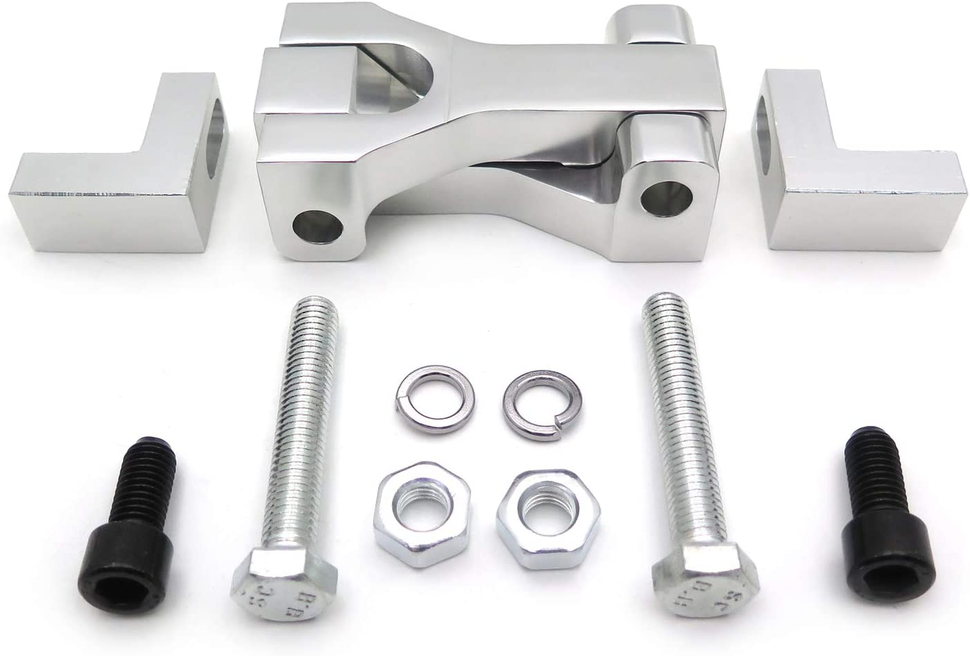 CNC Motorcycle Front Lowering Kit Silver New Compatible with Suzuki LTR 450 QuadRacer ATV HongK P//N:MT283-008