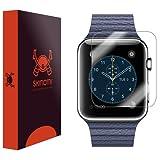 Skinomi, SK18680 TechSkin, Schutzfolie für Apple Watch und Apple Watch Series 3, wasserdicht, (42 mm) 6er Pack
