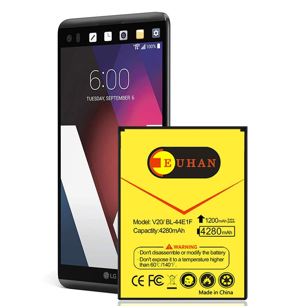 Bateria Celular LG V20 Euhan 4280mah Extended Slim Bl 44e1f Para LG V20 At&t H910 H918 Vs995 Sprint Ls997 Us996 | V20 Sp