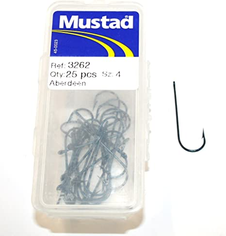 50 x size 1  Aberdeen Sea Fishing Hooks
