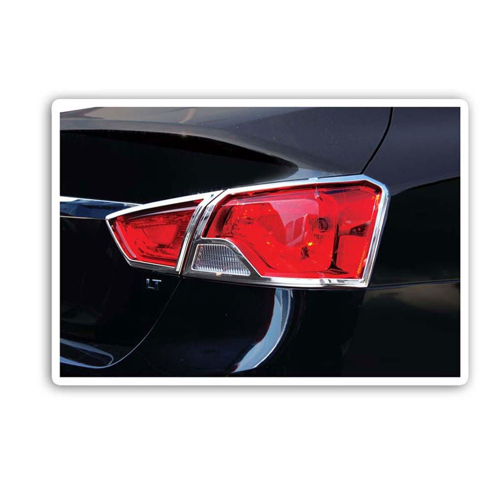 Upgrade Your Auto Premium FX Chrome Taillight Bezels for 2014-2016 Chevy Impala UpgradeYourAuto