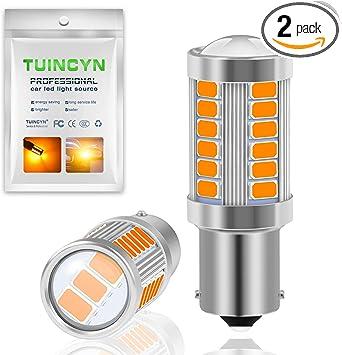 4Pcs 12V 24V 2835 66 SMD LED Bulb 1157 BAY15D Car Indicator Turn Lamp Tail Lamp