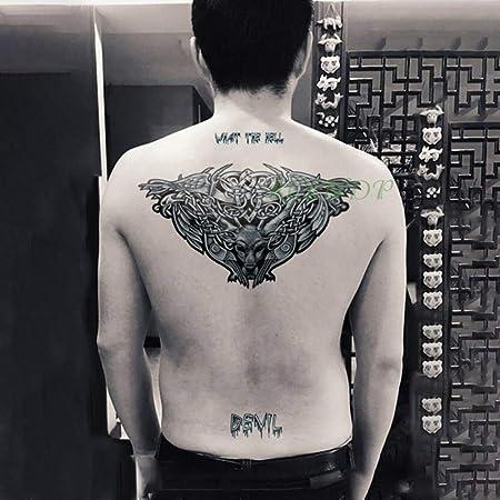 3 Piezas Etiqueta engomada del Tatuaje Fresco águila alas Hombre ...