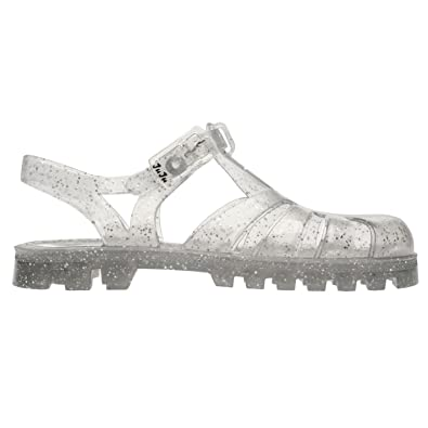 c36153d9190d Juju Jellies Kids Girls Sammy Sandals Jelly Shoes Lightweight Buckle  Ventilation Multi Glitter UK C4 (20)  Amazon.co.uk  Shoes   Bags