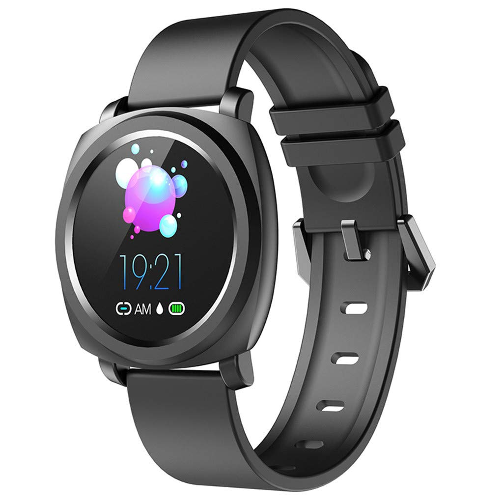 WELCOMEUNI Smart Watch for Android iOS Sports Fitness Calorie Wristband Wear Smart Watch Activity Tracking Sleep Monitoring