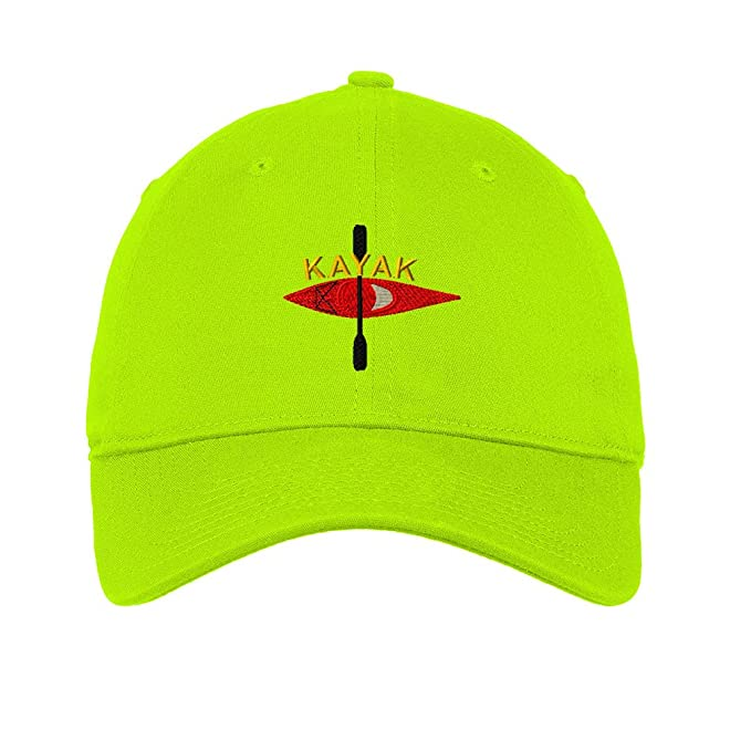 dc2252f2f14bf Speedy Pros Kayak Style 2 Twill Cotton 6 Panel Low Profile Hat Lime ...