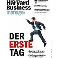 Harvard Business Manager 8/2013: Der erste Tag