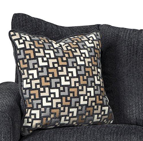Strange Wixon Dark Gray Fabric Pillow Back Sofa And Loveseat Set Machost Co Dining Chair Design Ideas Machostcouk