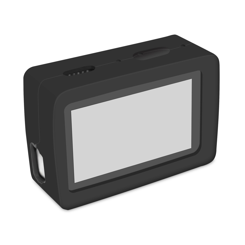 Funda protectora de silicona para cámara de iMusk, para Xiaomi Yi 4 K & 4 K Plus, cámaras de deporte y acción, funda con espacio para accesorios
