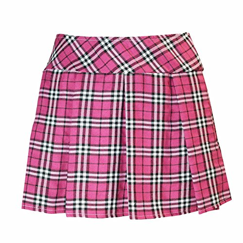 Costumes School Girl Hot (Plaid Schoolgirl Costume Skirt (S/M, Hot)